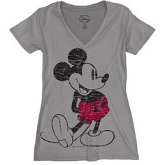 Disney Women's Plus-Size Retro Mickey Mouse Graphic Tee