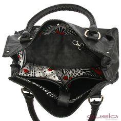 Bags, Fashion, Black Leather, Handbags, Moda, La Mode, Dime Bags, Fasion, Lv Bags