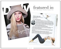 Featured In: Daily Front Row February 2015 Yoga Jeans™