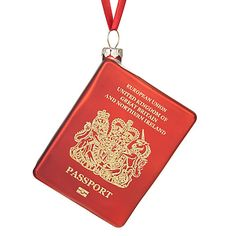 passport bauble by John Lewis