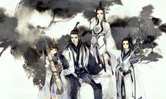 Môn phái Thuần Dương – game Kiếm Võng 3 – Y Xuy Ngũ Nguyệt