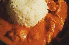 Indisches Butter Chicken aus dem Ofen von VanessaV | Chefkoch   - saulecker!!!! Butter Chicken, Chana Masala, Ethnic Recipes, Food, Indian, Food Portions, Chef Recipes, Cooking, Essen