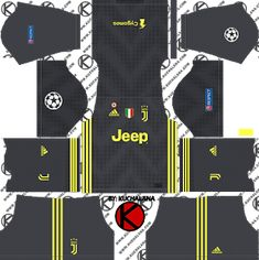 Juventus kits for Dream League Soccer and the package includes complete with home kits, away and third. All Goalkeeper kits are also included. This kits also can use in First Touch Soccer 2015 Juventus Goalkeeper, Juventus Team, Goalkeeper Kits, Juventus Soccer, Soccer Kits, Football Kits, Real Madrid Kit, Adidas Kit, Premier League