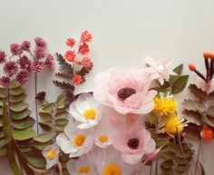 Little papery-flowery