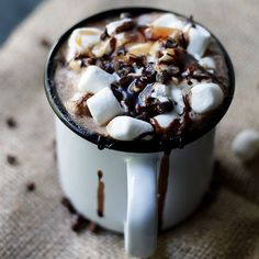 Hot chocolate is a not a want; it's a need.