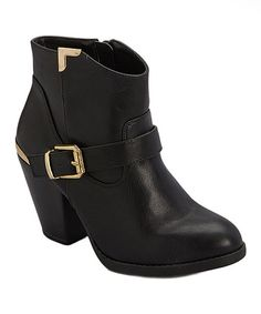 Look at this Black Zina Boot on #zulily today!
