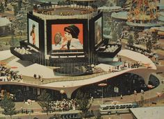 1964 1965 Worlds Fair Kodak Pavilion NYC Queens New York City by Christian Montone, via Flickr