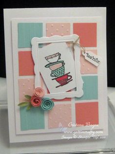 Morning Cup by Cristena - Cards and Paper Crafts at Splitcoaststampers