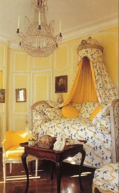 Ted and Lillian Williams restored French Folly - Chateau de Morsan built circa 1736 Normandy, France. Photographed by Deidi Von Schaewen for Beautiful Bedrooms French Cottage, French Country House, White Cottage, French Decor, French Country Decorating, Wood Floor Pattern, French Country Bedrooms, Furniture Styles, Furniture Ads