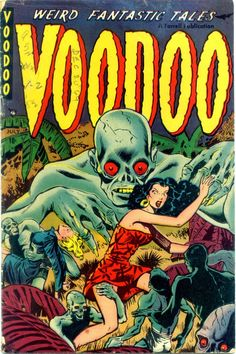 Comic Book Cover For Voodoo v1 #2