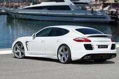 Porsche announced their first plug-in hybrid sedan. The Porsche Panamera S E-Hybrid
