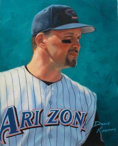 Mark Grace, Diamondbacks by Dave Kramer.
