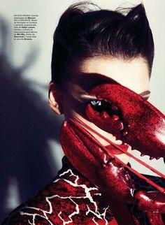 Vanguard Surrealism Tributes : Spanish Harper's Bazaar November 2012