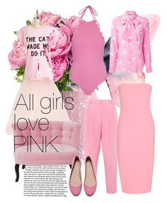 """""""All girls love pink"""" by chong-yanting on Polyvore"""