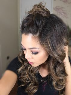 textured top knot
