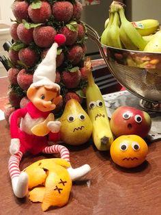 Xmas Elf, Elf Ideas, Elves, Elf On The Shelf, Watermelon, Ms, Fruit, Christmas Elf, Fairies