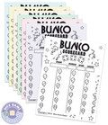 Bunco score cards - Party theme