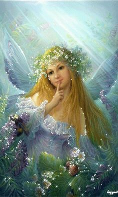 Fairy by Fantasy-fairy-angel on DeviantArt * Fairy Myth Mythical Mystical Legend Elf Faerie Fae Wings Fantasy Elves Faries Sprite Nymph Pixie Faeries Hadas Enchantment Forest Whimsical Whimsy Mischievous Fantasy Kunst, Fantasy Art, Fantasy Images, Fairy Paintings, I Believe In Angels, Fairy Pictures, Forest Fairy, Love Fairy, Beautiful Fairies