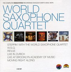 World Saxophone Quartet - World Saxophone Quartet: The Complete Remastered Recordings, Blue