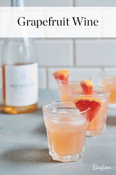 Grapefruit Wine Is the 3-Ingredient Cocktail You Must Try via @PureWow via @PureWow