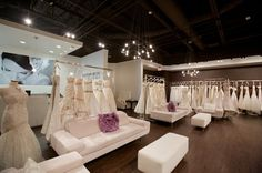 Bridal Boutique Interior | Boutique interior. Located near Mall of Millenia. Destination bridal ...
