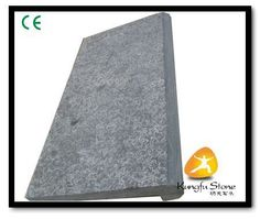 This is blue stone step,and surface is flamed treat.