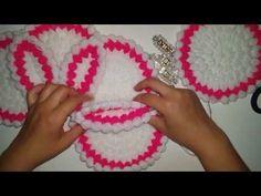 Learn to make Princessa Baby Crochet Blanket by Liliacraftparty Crochet Flower Patterns, Doily Patterns, Crochet Blanket Patterns, Baby Blanket Crochet, Crochet Flowers, Crochet Stitches, Crochet Baby, Crochet Crafts, Crochet Doilies