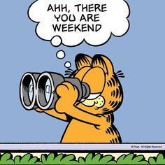 Ahh, there you are weekend weekend friday friday quotes weekend quotes friday images friday pics friday sayings friday image quotes weekend image Garfield Images, Garfield Quotes, Garfield Cartoon, Garfield And Odie, Garfield Comics, Happy Weekend Quotes, Its Friday Quotes, Happy Friday, It's Friday Humor