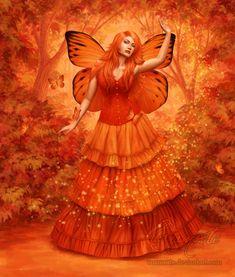 Autumn Fire by *Enamorte on deviantART