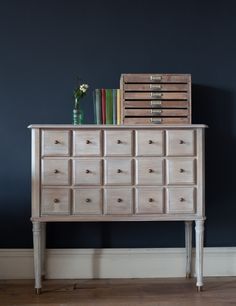 "Belfort 15 Drawer Chest & flat files!  i love ""nook and cranny"" kind of furniture!!!"