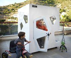 sweet modern playhouse