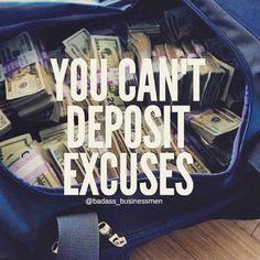 Happy Monday! I hope everyone had a fantastic weekend! Now, back to the hustle and grind!!    #NoExcuses #Business #Uniquetouchinc