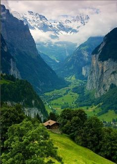 Switzerland Alps. I want to go here one day.