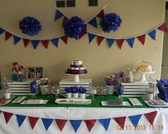 cumpleanos del barcelona Soccer Birthday, 10th Birthday Parties, 13th Birthday, Happy Birthday, Barcelona Soccer Party, Shower Centerpieces, Fiesta Party, Bar Mitzvah, Unicorn Party