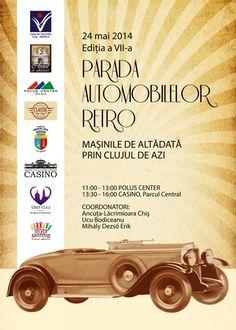 Parada automobilelor retro revine la Cluj My Town, Lund, Wooden Toys, Retro, Automobile, Wooden Toy Plans, Wood Toys, Woodworking Toys, Retro Illustration