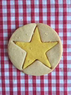 Easy Christmas Cut Out Star Cookies