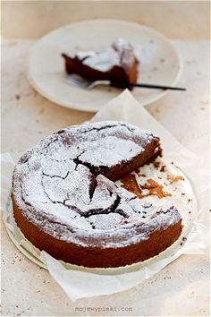 Ciasto czekoladowo - kasztanowe