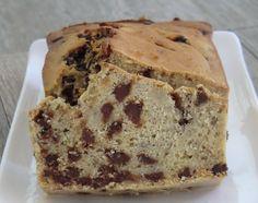 Ma petite cuisine gourmande sans gluten ni lactose: Cake aux bananes, aux pépites de chocolat et au rhum