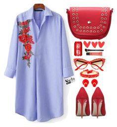 """Shein"" by simona-altobelli ❤ liked on Polyvore featuring Christian Dior"