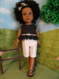 American Girl doll clothes 18 inch doll clothes by SewCuteJune