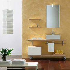 Style Your Bathroom with Chic Cabinet Ideas - http://inesblank.com/style-your-bathroom-with-chic-cabinet-ideas/
