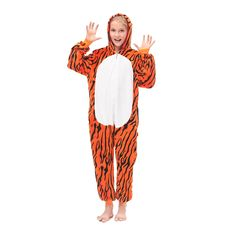 Orange Tiger Cosplay Pajamas – alfagoody
