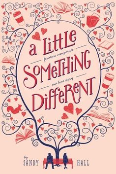 A Little Something Different by Sandy Hall. Don't recommend this. The writing style isn't the best, and it is extremely cheesy. In some scenes all I wanted to do was punch the characters. If you like super cheesy, sappy, and unrealistic romance though, this is the book for you.