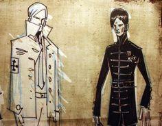 Gerard Way's Art Appreciation Blog Gerard Way Art, Do You Know The Muffin Man, Emo Art, Mcr Memes, Sketch Inspiration, Character Inspiration, Character Design, Black Parade, Emo Boys