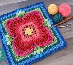 [Free Pattern] Gorgeous Square With A Unique Look That Delivers Texture And Style
