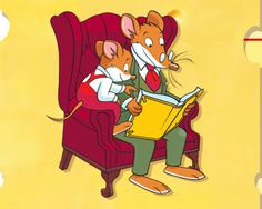 Geronimo stilton and nephew