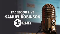 Live with Samuel Robinson - Want to minister to you today. Sammy Robinson, Robinson Family, Jamie Galloway, Movie Sites, Prayers For Healing, The Millions, On Today, Streaming Movies, Helping People