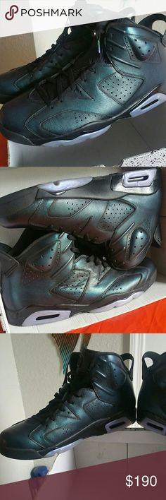**RARE & BRAND NEW** Air Jordan Retro 6, Size 15 CHAMELEONS!!! BRAND NEW & NEVER WORN, Hard to find Size 15.... AIR JORDAN 6 RETRO AS  Get them while you can!!! Nike Shoes Sneakers