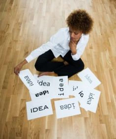 The first step to consider when starting a start-up is to come up with a business idea.