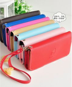 Trendy leren iPhone hoesjes - #leather iphone 5 case best | Exquisite leather handbag purse wallet Case Pouch Cell Phone for Apple iphone 5 | eBay - http://lereniPhone5hoesjes.nl